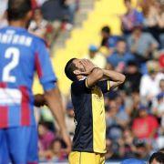 Rückschlag für Atlético, Remis für Real und Barça (Foto)