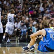 NBA-Playoffs: Nowitzkis Mavericks scheitern an Spurs (Foto)