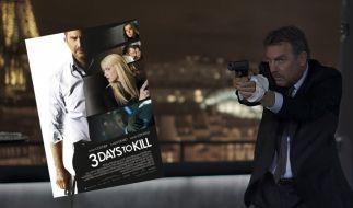 «3 Days To Kill» mit Kevin Costner läuft ab dem 8. Mai 2014 in den deutschen Kinos. (Foto)