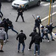 Nach Gewalt vor Finale:Italien diskutiert Konsequenzen (Foto)