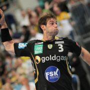 Happy End im Handball-Krimi: Löwen froh über Jäger-Rolle (Foto)