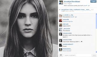 Dieses Bild teilte Brooklyn Beckham angeblich auf seinem Instagram-Profil. (Foto)