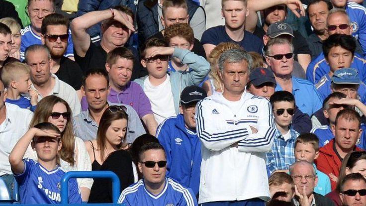 Unglückliche Mourinho-Rückkehr - Kaum noch Titelchance (Foto)
