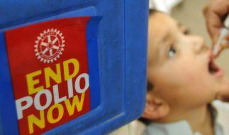 WHO warnt vor aufflammender Polio-Ausbreitung (Foto)