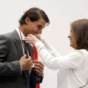 Tennis-Star Nadal zum Ehrenbürger von Madrid ernannt (Foto)