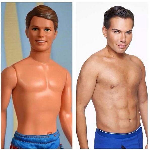 Dieser Brasilianer sieht aus wie Barbies Freund Ken (Foto)