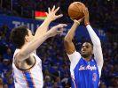 Paul führt Clippers in NBA-Viertelfinale zu Auftaktsieg (Foto)