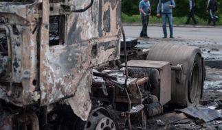 Ukraine: Steinmeier befürchtet militärischen Konflikt (Foto)