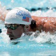 US-Schwimmstar Phelps meldet für Wettkämpfe in Charlotte (Foto)