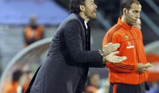 Barça-Manager trifft sich mit Trainer Luis Enrique (Foto)