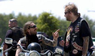 Hells Angels brauchen Motorräder, Straße, ihre Kutte und den richtigen Sound. (Foto)