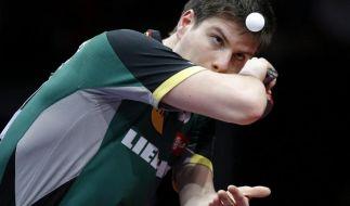 Ovtcharov weiter Nummer vier der Tischtennis-Welt (Foto)