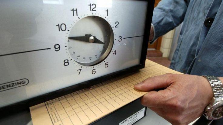 40-Stunden-Woche für die meisten immer noch die Regel (Foto)