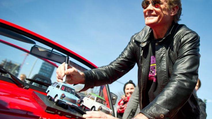 David Hasselhoff will die digitale Freiheit retten (Foto)