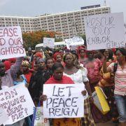 USA wollen nach Massenentführung in Nigeria bei Suche helfen (Foto)