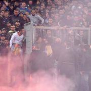 Stadionverbot für Neapels Ultra-Anführer (Foto)