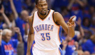 Durant erstmals MVPin der NBA (Foto)