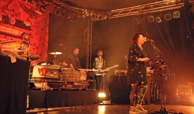 Miss Platnum «Glück und Benzin»-Tour