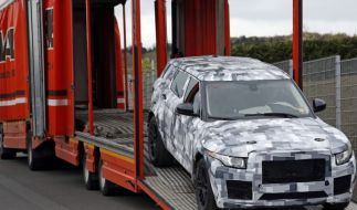 Erwischt: Erlkönig Jaguar SUV - Jaguar-Angriff auf Prosche-Tiger (Foto)