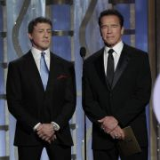 «Expendables 3»-Stars Stallone und Schwarzenegger in Cannes (Foto)