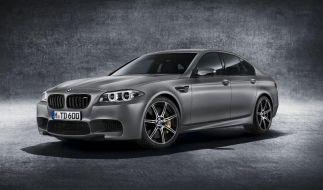 BMW feiert 30 Jahre M5 mit stärkstem Markenmodell (Foto)