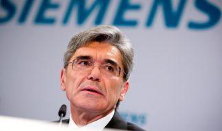 Siemens-Chef Kaeser baut Konzern radikal um (Foto)