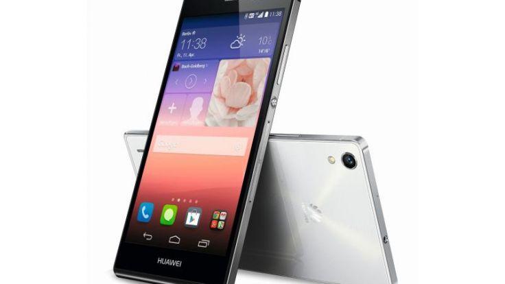 Huawei Ascend P7: Oberklasse-Smartphone im Glasgewand (Foto)