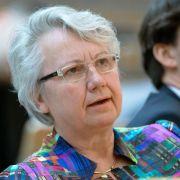 Schavan wird neue deutsche Botschafterin im Vatikan (Foto)