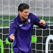Gomez bei Florenz wieder im Mannschaftstraining (Foto)