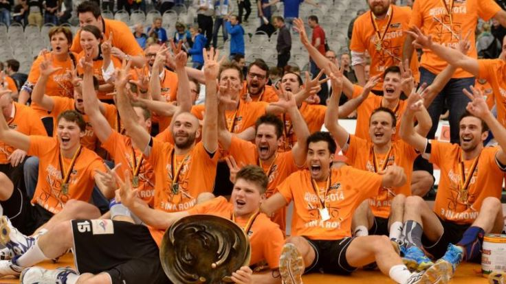 Berlin Volleys erneut Volleyball-Meister (Foto)