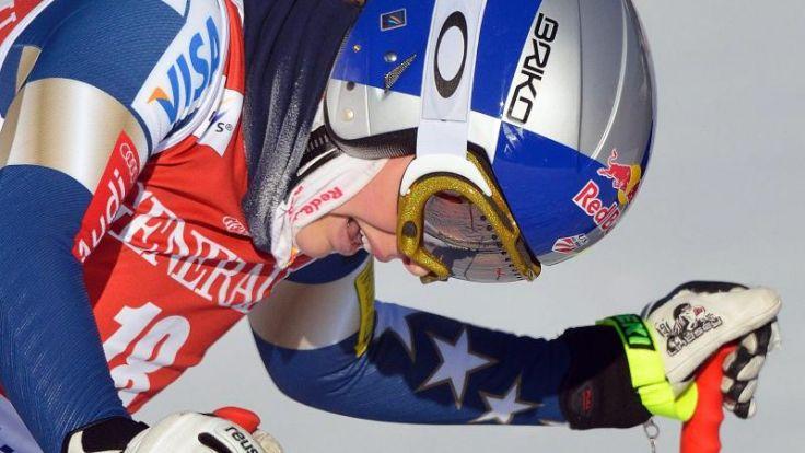 US-Skistar Vonn verliert Trainer vor WM-Saison (Foto)