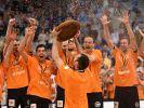 Berlin Volleys nach Titel-Hattrick im Partymodus (Foto)