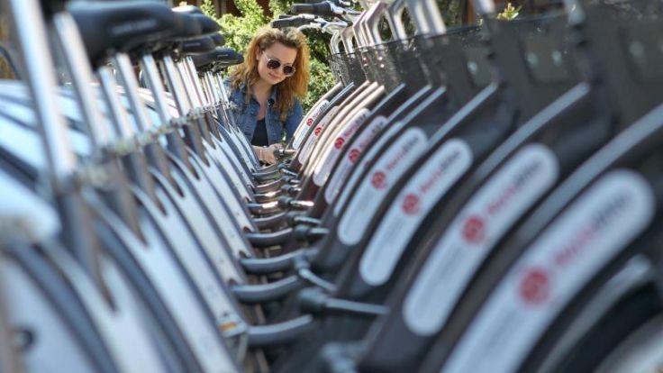 Leihfahrräder boomen - Unterschiede bei Geschäftsbedingungen (Foto)