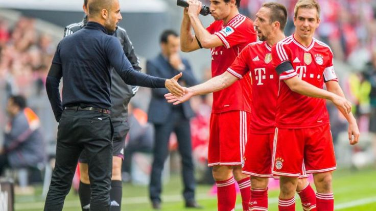 Brisantes Bayern-Finale:Meister-Balkon - und dann? (Foto)