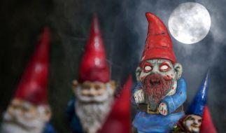 Horror im Gartenbeet: Die Zombie-Gartenzwerge sind los! (Foto)