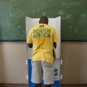 Südafrika: Wahlsieger ANC nur mit leichten Verlusten (Foto)