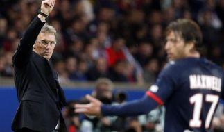 PSG verlängert Vertrag mit Coach Blanc (Foto)