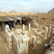 Grab von Ramses' «Außenminister» in Sakkara gefunden (Foto)