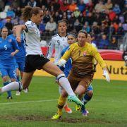 DFB-Frauen machen großen Schritt zur WM (Foto)