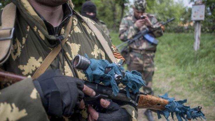 Ukraine: Separatisten ignorieren Putin-Appell (Foto)