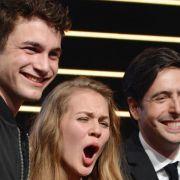 Dietl-Sohn David erhält New Faces Award (Foto)