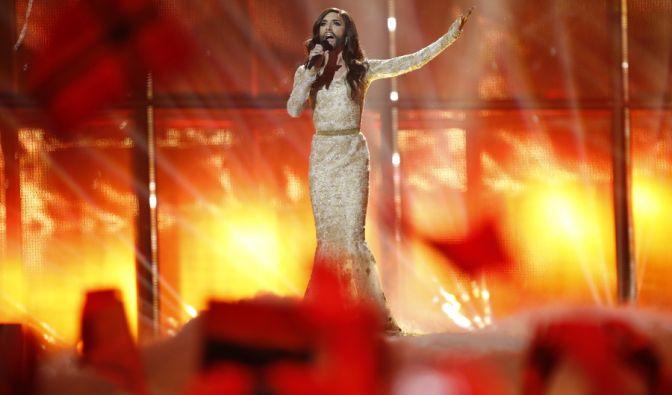 Zehn weitere Acts haben es vom zweiten Halbfinale ins Finale des Eurovision Song Contests 2014 geschafft. Durchsetzen konnte sich unter anderem Conchita Wurst für Österreich. (Foto)