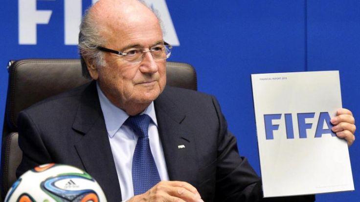 FIFA-Boss Blatter klarer denn je zu Wiederwahl (Foto)