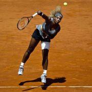 Verletzte Serena Williams tritt in Madrid nicht mehr an (Foto)