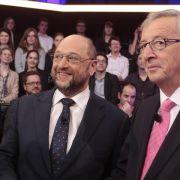 Schulz oder Juncker? Kaum Interesse für Europawahl-TV-Duell (Foto)