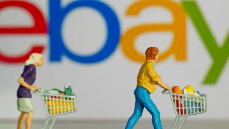 Handelsplattform eBay vorübergehend offline (Foto)