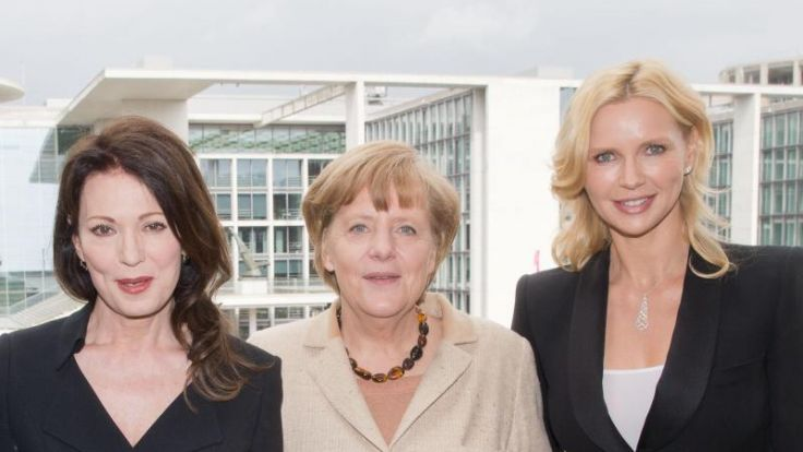 Iris Berben und Veronica Ferres beim CDU/CSU-Filmempfang (Foto)