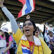 Regierungsgegner in Bangkok auf dem Vormarsch (Foto)