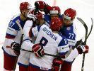 Eishockey-WM: Russland siegt, Kanada verliert (Foto)