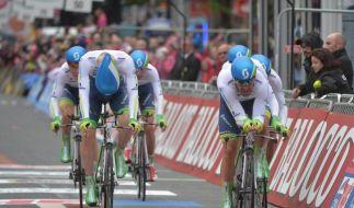 Giro: Team Orica-GreenEdge gewinnt Auftakt-Zeitfahren (Foto)